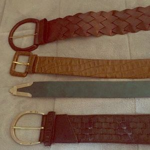 Accessories - A bundle of 4 belts